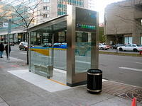 New STM Bus Shelters